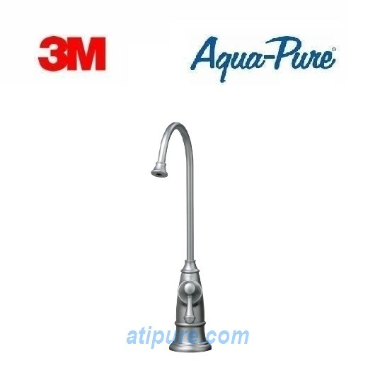 Aqua-Pure® by 3M™ Designer Faucets, Brushed Stainless Steel | 6BG ...