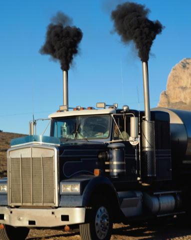 Diesel-smoke